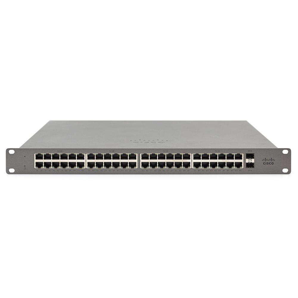 Cisco Meraki GS110 Gestionado Gigabit Ethernet (10/100/1000) Gris 1U