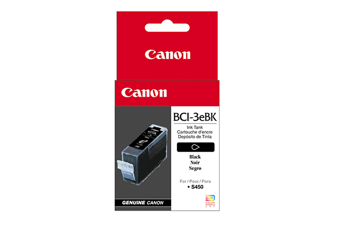 Canon BCI-3eBk Original Negro