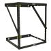 Tripp Lite SmartRack 8U/12U/22U Expandable Flat-Pack Low-Profile Switch-Depth Wall-Mount 2-Post Open Frame Rack
