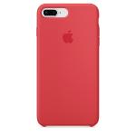 Apple iPhone 8 Plus / 7 Plus Silicone Case - Red Raspberry