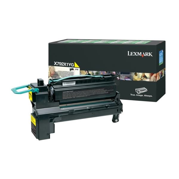 Lexmark X792X1YG Toner yellow, 20K pages