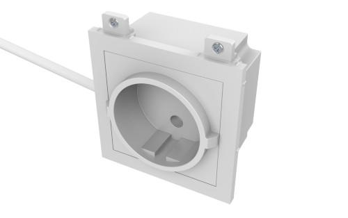 Vision TC3 PWREU socket-outlet CEE 7/3 White