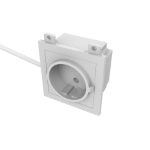 Vision TC3 PWREU Schuko White socket-outlet