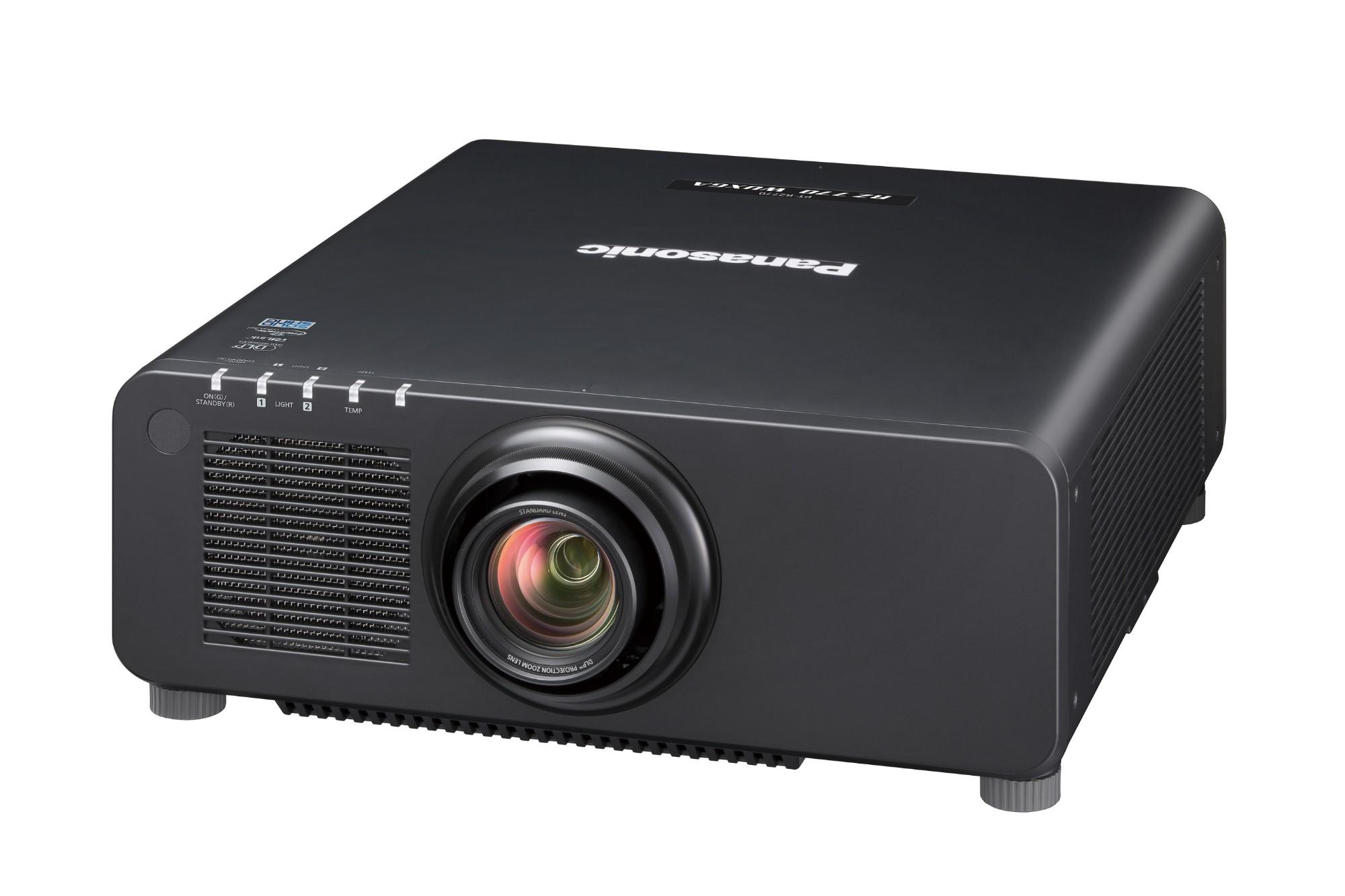 Panasonic PT-RZ770BEJ data projector 7200 ANSI lumens DLP WUXGA (1920x1200) Desktop projector Black