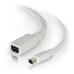 C2G 1m Mini DisplayPort Extension Cable M/F - White