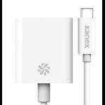 Kanex KU31CHD4K USB-C HDMI White cable interface/gender adapter