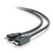 C2G USB 2.0, C - Micro B, 3m cable USB USB C Micro-USB B Negro