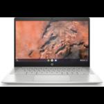 "HP Chromebook Pro c645 Enterprise DDR4-SDRAM 14"" 1920 x 1080 pixels AMD Ryzen 7 16 GB 128 GB SSD Wi-Fi 6 (802.11ax) Chrome OS Silver"