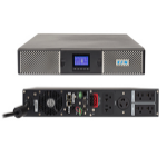 Eaton 9PX 2000RT Double-conversion (Online) 2000VA 7AC outlet(s) Rackmount/Tower Black,Silver uninterruptible power supply (UPS)