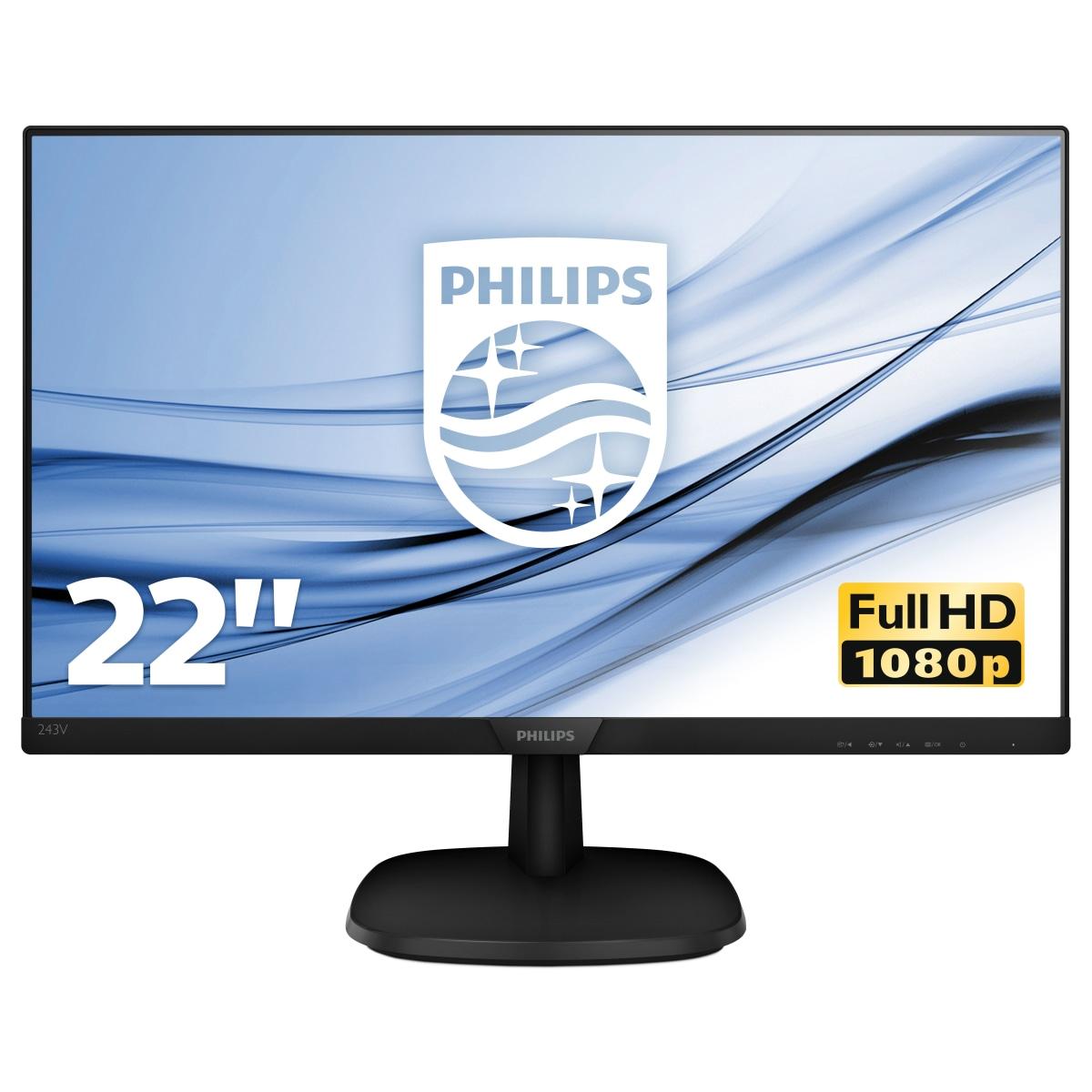Philips V Line Full HD LCD-monitor 223V7QHAB/00