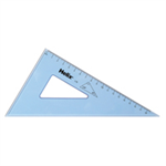 Helix SET SQUARE 21CM 60 DEGREE CLEAR
