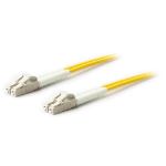 AddOn Networks 2m LC-LC fibre optic cable Yellow