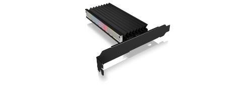 ICY BOX IB-PCI224M2-ARGB interface cards/adapter Internal M.2