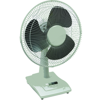Q-Connect 300mm/12in Desktop Fan