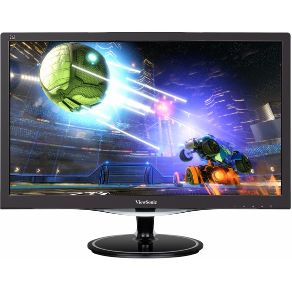 "Viewsonic VX Series VX2457MHD 24"" Full HD LED Matt Flat Black computer monitor"