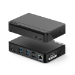ALOGIC DUTHDPR interface hub USB 3.2 Gen 1 (3.1 Gen 1) Type-C 5000 Mbit/s Black