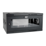Tripp Lite SRW6UDPGVRT rack cabinet 6U Wall mounted rack Black