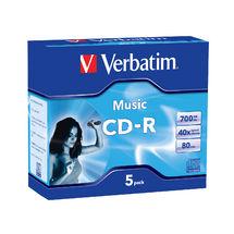 Verbatim CD-R 700mb CD-R 700MB 5pc(s)