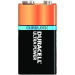 Duracell Ultra Power 9V, 5 Pack Single-use battery Alkaline