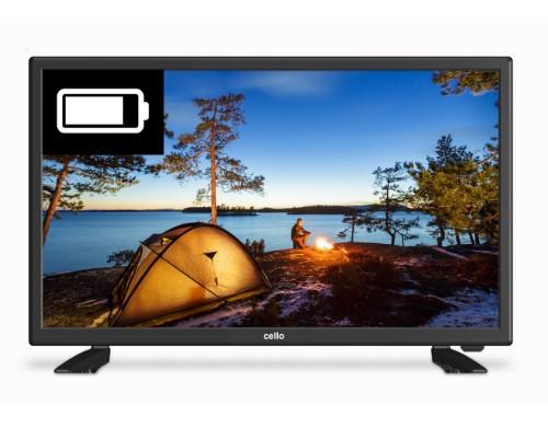 """Cello C22277T2-S1 TV 55.9 cm (22"""") Full HD Black"""