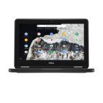 """DELL Chromebook 3100 2-in-1 29.5 cm (11.6"""") 1366 x 768 pixels Touchscreen Intel® Celeron® N 4 GB LPDDR4-SDRAM 32 GB eMMC Wi-Fi 5 (802.11ac) Chrome OS Black, Grey"""
