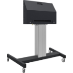 "iiyama MD 062B7275 A 84"" Portable flat panel floor stand Black flat panel floorstand"