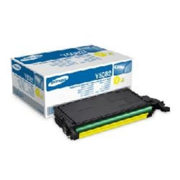 Samsung CLT-Y5082S/ELS (Y5082S) Toner yellow, 2K pages @ 5% coverage