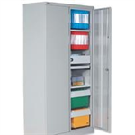 JEMINI FF JEMINI 72IN 2DR CUPBOARD 3 SHLVS GREY