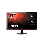 "AOC Gaming G2778VQ computer monitor 68.6 cm (27"") 1920 x 1080 pixels Quad HD Flat Matt Black,Red"