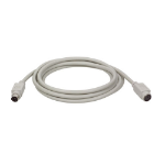 Tripp Lite PS/2 Keyboard or Mouse Extension Cable (Mini-DIN6 M/F), 15.24 m (50-ft.)