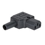 Cablenet C13 Right Angle 10Amp Power Connector (Screw)