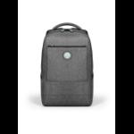 "Port Designs YOSEMITE Eco XL notebook case 39.6 cm (15.6"") Backpack Grey 400703"
