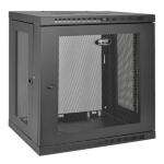 Tripp Lite SmartRack 12U Wall-Mount Standard-Depth Rack Enclosure Cabinet