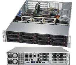 Supermicro SuperServer 6029P-WTRT Intel C622 LGA 3647 Rack 2U Black