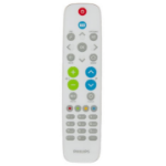 Philips 22AV1604A/12 Push buttons Grey, White remote control