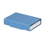"Orico Blue Stackable 3.5"" HDD Protection Box With Anti Static"