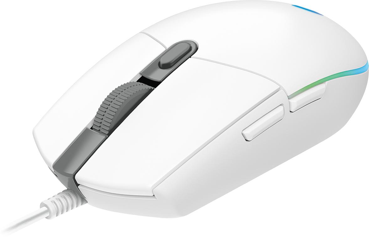 Logitech G G102 ratón USB tipo A 8000 DPI