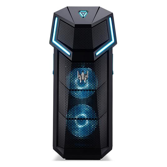 Acer Predator PO5-610 9th gen Intel® Core™ i7 i7-9700K 16 GB DDR4-SDRAM 1256 GB HDD+SSD Black PC Windows 10 Home