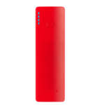 PNY PowerPack Curve 2600 Lithium-Ion (Li-Ion) 2600mAh Red power bank