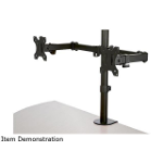"StarTech.com ARMDUAL2 monitor mount / stand 32"" Clamp Black"