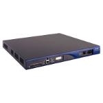 Hewlett Packard Enterprise MSR30-20 wired router Gigabit Ethernet Black,Blue