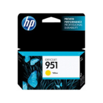 HP 951 Yellow Officejet Ink Cartridge inktcartridge Original Geel 1 stuk(s)