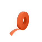 Cablenet 25m Reel x 10mm Velcro Brand One-wrap Continuous Tape Orange