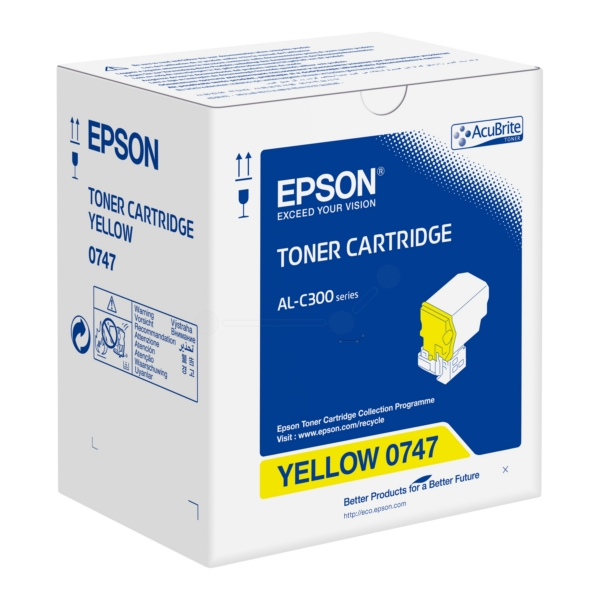 Epson C13S050747 (0747) Toner yellow, 8.8K pages