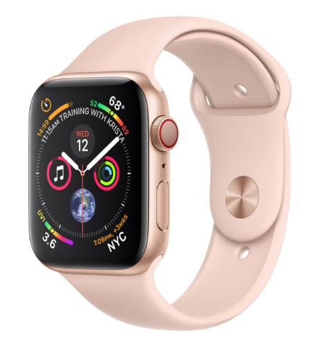 Apple Watch Series 4 smartwatch Gold OLED Cellular GPS (satellite)