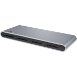 StarTech.com 4-Slot USB-C SD Card Reader - USB 3.1 (10Gbps) - SD 4.0, UHS-II