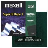 Maxell Super DLT 160/320GB SDLT 160 GB 1.27 cm