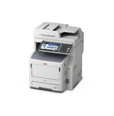 OKI MB770dnfax A4 Mono Multifunction, 52ppm mono print speed, 1200 x 1200dpi print resolution, 2GB memory, 3 year warranty
