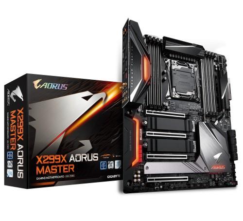 Gigabyte X299X Aorus Master motherboard LGA 2066 Extended ATX Intel® X299