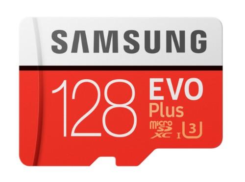 Samsung EVO Plus MB-MC128G 128GB MicroSDXC UHS-I Class 10 memory card